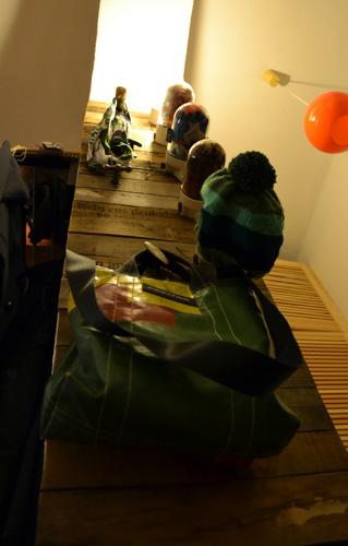 garderobe selber bauen selbstgebaute m bel. Black Bedroom Furniture Sets. Home Design Ideas